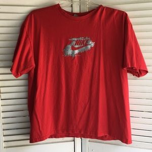 Nike red T-shirt size xl